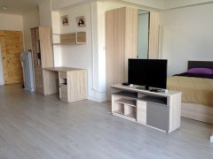 Open plan one bedroom apartment in downtown Chiang Rai.
