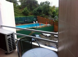 Centrally located one bedroom apartment with use of facilities including pool.