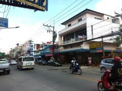 Shop for rent on Chiang Rai's busiest street