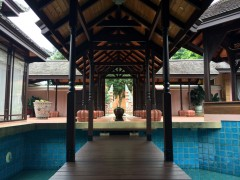 Stunning house on almost 11 rai of beautiful, gently sloping land edged by silent rice fields.