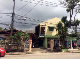 Well located property with established business, Ropwing, Chiang rai.