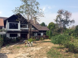 Very large house on 3 rai in Mae Yao area.