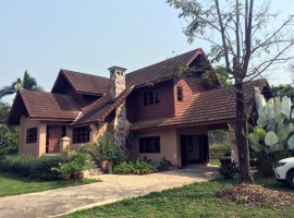 House for sale in Chiang rai: 1 Rai 2 Ngan, 3 Bedrooms, 4.5 Mil. Mae Yao.