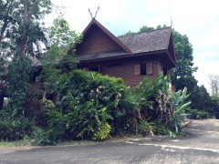 House for rent in Chiang rai: Mae Chan Teak house