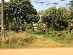 Land for sale in Chiang Rai: 7 Rai near Doi Din Dang Pottery place.