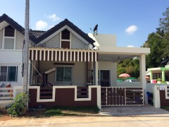 House for sale in Chiang rai: Comfortable house with the right price.