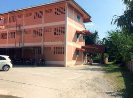 ขายอาพาท์เม้นทร์ใกล้มหาวิทยาลัยราชภัฏ: 2 ตึก, 112 ห้อง, ขนาดห้องพัก 24 ตรม.