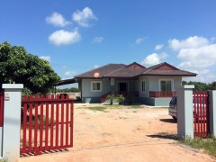 House for sale in Chiang rai: 1 Rai, 5.5 Mil, Wiang Chai.