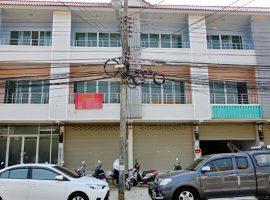 อาคารพาณิชย์ให้เช่าในตัวเมืองเชียงราย : 2 คูหา, 3 ชั้น 4 ห้องนอน, 20,000 บาท/เดือน