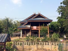House for sale in Chiang rai: 5.5 Mil, 360 Tarangwa. Khon Kon Waterfall.
