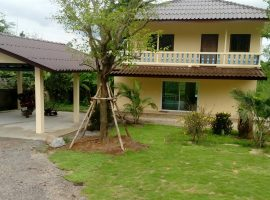 House for sale/rent in Chiangrai: 3.6 Mil, 3 Ngan 75 Tarangwa, Doi Hang.