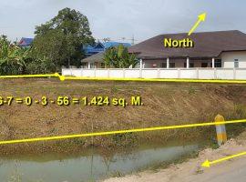 Land for sale in Chiang Rai: Plot size starting from 1-3 Ngan, Baan Melanie, Tha Sai.