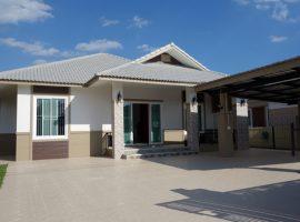 House for sale in Chiange rai: 4.2 Million Baht, 1 Ngan, 3 Bedrooms, Buffalo Hill, Ropwiang.