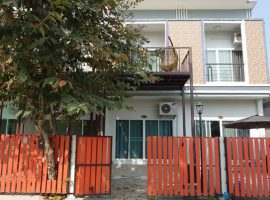 Office home for rent in Chiang Rai: 14 Tarangwa, 2 Bedroom, 8,500 Baht per. month, Rop Wiang.