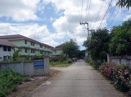 Commercial Building for sale in Chiang rai: 2 rai 46 tarangwa, 2 apartment buildings and empty plot, 42,000,000 Baht, Bandu, Chiangrai.