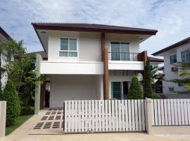 House for rent in Chiang rai: 3 Bedrooms, Fully furnished with 4 aircons, 30,000 Baht/ Month, Sinthanee 11, Rimkok, Chiangrai