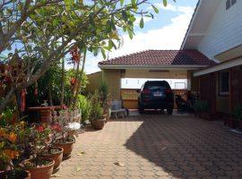House for sale in Chiang rai: 1 Ngan 52 Tarangwa, House size: 240 SQM., 4.5 Million Baht, 3 Bedrooms, Ropwiang, Chiangrai
