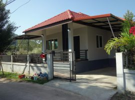 House for rent in Chiang rai: 12,000 Baht /Month, 2 Bedrooms, Fully furnished, Thai Sai (Hua Doi), Chiangrai.