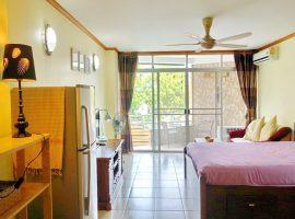 สตูดิโออพาร์ทเม้นท์ให้เช่า ที่รอบเวียง, เชียงราย: สตูดิโอ 1 ห้องนอน+ห้องน้ำ, ตร.ม., เฟอร์นิเจอร์ครบ, 7,500 บาท/เดือน