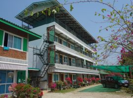 Commercial Building for sale in Chiang rai: 2 Rai 66 Tarangwa, 5 buildings 1 Restaurant, 70 Million Baht, Sansai, Chiangrai.