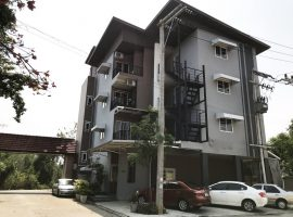 Apartment for sale/Commerical Building For sale in Chiang Mai: 78 sq.wa, 4 Floors, 22 guest rooms, Thasala, Mueang Chiang Mai