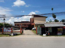 Commerical building for sale in Chiang rai: 350 Tarangwa, 24rooms, 16 Million Baht, Sansai, Chiangrai.