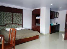 ให้เช่าสตูดิโออพาร์ทเม้นท์ ที่รอบเวียง, เชียงราย: ขนาดห้อง 43 ตร.ม., 9,000 บาท/เดือน