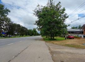 ขายที่ดินพร้อมอาคารติดถนนสาย 1 แม่ลาว เชียงราย: เนื้อที่ 90 ตรว., 3,400,000 บาท