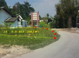 Land for sale in Chiang rai: 64 Tarangwa, 960,000 Baht, Tha Sai.