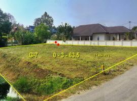 Land for sale in Chiang rai: 3 Ngan 63 Tarangwa, 5,445,000 Baht, Thai Sai, Chiangrai