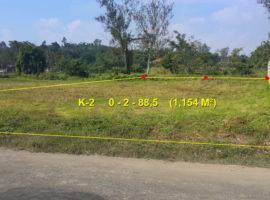 Land for sale in Chiang rai: 288 Tarangwa, 4,320,000 Baht, Tha Sai, Chiangrai.