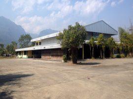 Commercial building/Land for rent/sale in Chiang rai: 7 Rai 86 Tarangwa, 50,000 Baht/month, Huay Krai, Maesai.