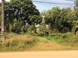 Land for sale in Chiang rai: 7 rai 28 Tarangwa, 11.5 Million Baht, Nang Lae.