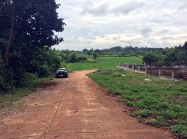 Land for sale in Chiang rai: 4 Rai 1 Ngan 29 Tarangwa, 4.4 Million Baht, Between Ratchapat and Mae Fah Luang University.