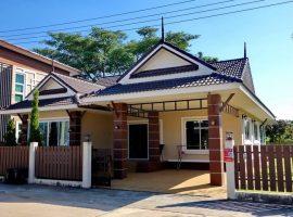 เช่า/ขายบ้านที่บ้านดู่ เชียงราย : พื้นที่ใช้สอย 144 ตรม., 3 ห้องนอน, 20,000 บาท/เดือน