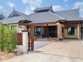 ให้เช่าบ้านสวยใหม่ใกล้แมคโคร บ้านดู่ เชียงราย: 3 ห้องนอน, 15,500 บาท/เดือน, เฟอร์นิเจอร์ครบ