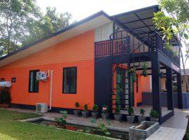 บ้านใหม่ให้เช่าที่เชียงราย : 20,000 บาท/เดือน, มีเฟอร์นิเจอร์ครบพร้อมแอร์ 4 ตัว, ท่าสาย