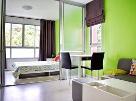 ห้องพักให้เช่าที่ ดีคอนโด รอบเวียง เชียงราย: 7,000 บาท/เดือน, พื้นที่ใช้สอย 31 ตรม., 1 ห้องนอน