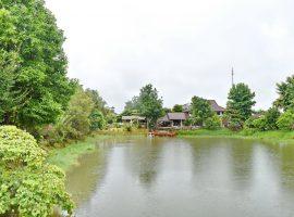 ขายบ้านพักพร้อมห้องประชุมและสวนน้ำ ขนาดใหญ่ บ้านดู่ เชียงราย : เนื้อที่ 6 ไร่ 3 งาน 30 ตรว., 21 ล้านบาท