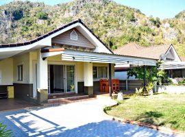 บ้านวิวสวยให้เช่าพร้อมเฟอร์นิเจอร์ครบ ริมกก เชียงราย : 2 ห้องนอน, 10,000 บาท/เดือน
