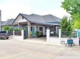 บ้านใหม่ขายและให้เช่า บ้านดู่ เชียงราย : เนื้อที่ 66.8 ตรว., พื้นที่ใช้สอย 120 ตรม., 3 ห้องนอน, 2.7 ล้านบาท