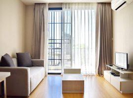 ให้เช่าอพาร์ทเม้นท์ห้องใหญ่ ขนาด 38 ตรม.  ริมกก เชียงราย : 1 ห้องนอน, 9,000 บาท/เดือน